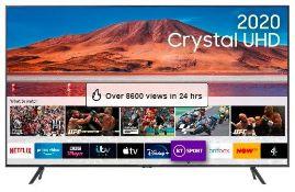 """SAMSUNG UE43TU7100K 43"""" CRYSTAL UHD SMART TV RRP £379"""