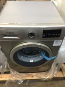 1 LOT TO CONTAIN AN UNTESTED BOSCH WAT2840SGB WASHING MACHINE / RRP £399.99 / NO VISIBLE DAMAGE,