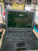 1 LOT TO CONTAIN 1 WINDOWS E SYSTEM LAPTOP (THIS ITEM IS AN UNTESTED CUSTOMER RETURN. PUBLIC VIEWING