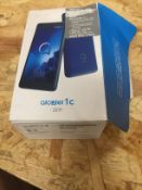 1 LOT TO CONTAIN ALCATEL 1C MOBILE PHONE / RRP £49.00 (THIS ITEM IS AN UNTESTED CUSTOMER RETURN.