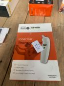 1 LOT TO CONTAIN 1 AT JOHN AMBULANCE INNER EAR THERMOMETER (THIS ITEM IS AN UNTESTED CUSTOMER