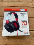 1 LOT TO CONTAIN 1 TURTLE BEACH HEADSET / EAR FORCE REACON 70 (THIS ITEM IS AN UNTESTED CUSTOMER