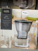 1 LOT TO CONTAIN 1 WATER FILTER JUG (THIS ITEM IS AN UNTESTED CUSTOMER RETURN. PUBLIC VIEWING IS