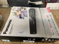 1 LOT TO CONTAIN 1 PANASONIC BLUE RAY DISC PLAYER (THIS ITEM IS AN UNTESTED CUSTOMER RETURN.