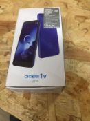 1 LOT TO CONTAIN ALCATEL 1V MOBILE PHONE / RRP £50.00 (THIS ITEM IS AN UNTESTED CUSTOMER RETURN.