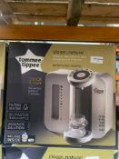 1 LOT TO CONTAIN 1 TOMMEE TIPPEE CLOSE TO NATURE PERFECT PREP MACHINE / RRP £80.00 (THIS ITEM IS