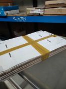 1 LOT TO CONTAIN APPROX 14 FLAT PACK CARDBOARD STORAGE BOXES