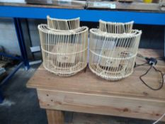 1 LOT TO CONTAIN LA REDOUTE WALL LIGHT SHADE