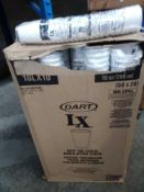 1 LOT TO CONTAIN DART LX BOX OF 1000 HOT OR COLD INSULATED COFFEE CUPS 50 X PKS OF 20