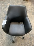 JOHN LEWIS REID FAUX LEATHER OFFICE CHAIR