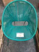 1 x JOHN LEWIS SALSA OUTDOOR CHAIRS IN PALM