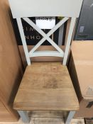 1 x JOHN LEWIS CLAYTON CHAIR IN GREY
