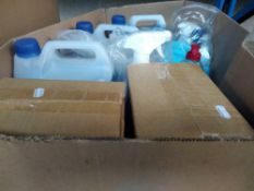 1 LOT TO CONTAIN ASSORTED CHEMICALS TO INCLUDE PETROL SYSTEM CLEANER, SCREEN WASH AND OTHER ITEMS