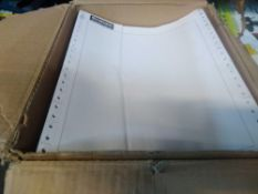 1 LOT TO CONTAIN RECEIPT PAPER WHICH IS CARBON PAPER IDEAL FOR WRITING NOTES, RECEIPTS ETC