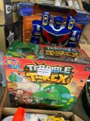 1 LOT TO CONTAIN 1 TERRIBLE T REX KIDS GAME / ADVENTURE FORCE ASTROBOT