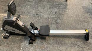 1 ASSEMBLED KETTLER AXOS ROWER ROWING MACHINE / RRP £499.00 CODE-7985-895