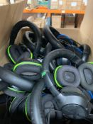 1 LOT TO CONTAIN 1 BOX OF UNTESTED GAMING HEAD SETS / TURTLE BEACH
