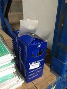 1 LOT TO CONTAIN 100 WB STYLO STIK BLUE BALLPOINT BIRO PENS - BOXED