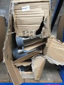 1 LOT TO CONTAIN APPROX 20 AMEY BRAND THERMO FLASK CUPS AND LIDS - BOXED