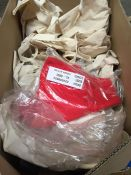 1 LOT TO CONTAIN APPROX 30 AMEY BRANDED SHOPPING BAGS MADE OF CLOTH - ALSO APPROX 8 SILVER AMEY