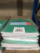1 LOT TO CONTAIN 15 A4 LINED PUKKA PAD METALLIC JOTTA NOTEPADS -