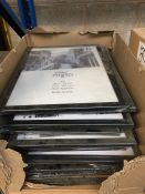 1 LOT TO CONTAIN 20 X A3 29.7 X 42 CM PHOTO / PICTURE FRAMES - BOXED