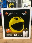 6 X PAC-MAN LIGHTS / COMBINED RRP £180.00 / UNTESTED CUSTOMER RETURNS