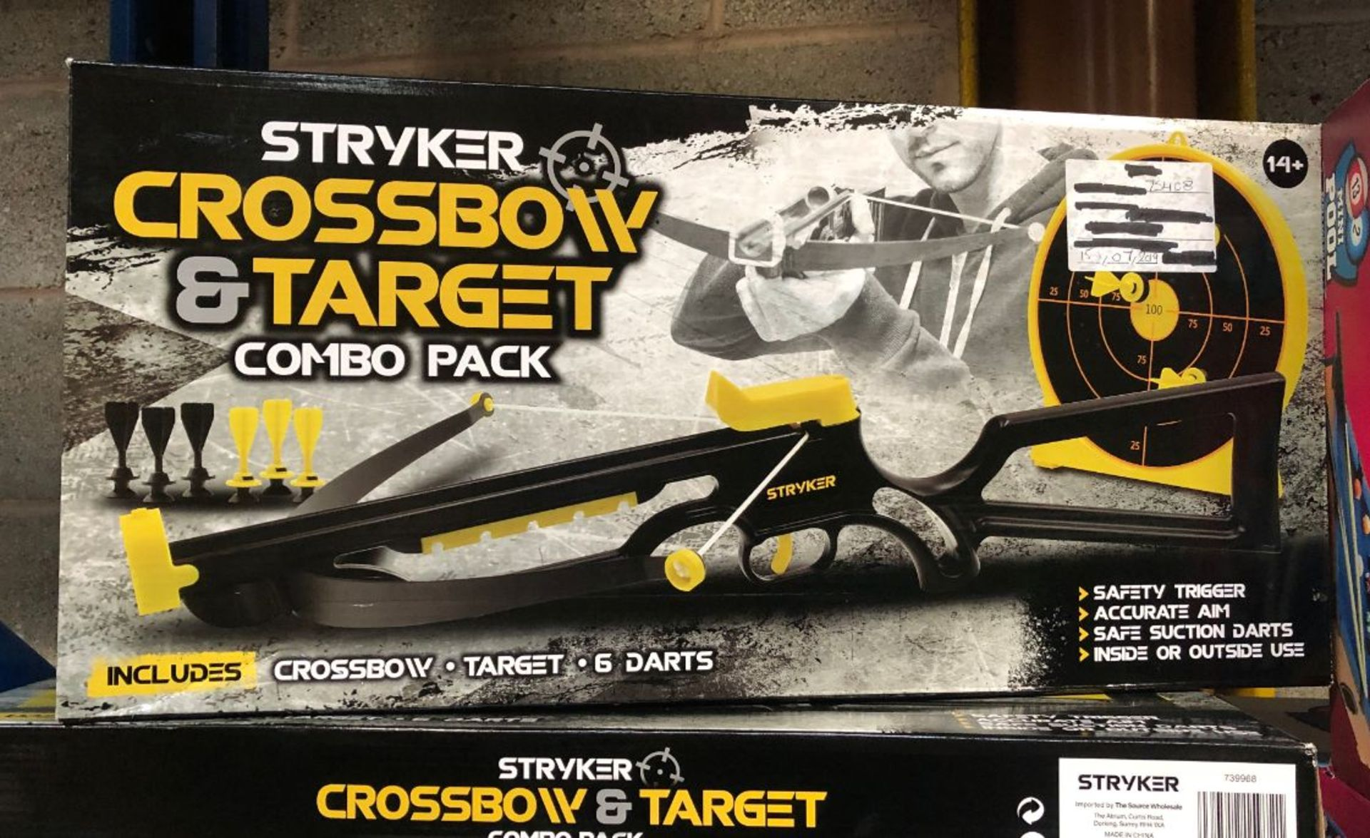 Lot 96 - 5 X STRYKER CROSSBOW AND TARGET COMBO PACK / COMBINED RRP £75.00 / UNTESTED CUSTOMER RETURNS