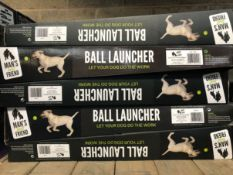 8 X DOG BALL LAUNCHERS / COMBINED RRP £160.00 / UNTESTED CUSTOMER RETURNS