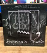 2 X NEWTON'S CRADLES / COMBINED RRP £30.00 / UNTESTED CUSTOMER RETURNS