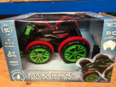 7 X AMPHIBIOUS LAND AND WATER VEHICLE / COMBINED RRP £175.00 / UNTESTED CUSTOMER RETURNS