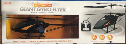 7 X GIANT GYRO FLYERS / COMBINED RRP £125.00 / UNTESTED CUSTOMER RETURNS