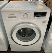 BOSCH WAN28201GB 8KG FREESTANDING WASHING MACHINE - WHITE