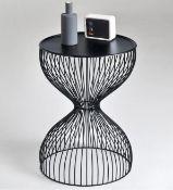 LA REDOUTE JANIK WIRE CADGE BEDSIDE TABLE