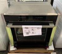 NEFF B47CR32N0B SLIDE AND HIDE ECOCLEAN SINGLE ELECTRIC OVEN