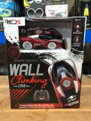 27 X WALL CLIMBING CARS - COLOURS VARY / COMBINED RRP £540.00 / UNTESTED CUSTOMER RETURNS