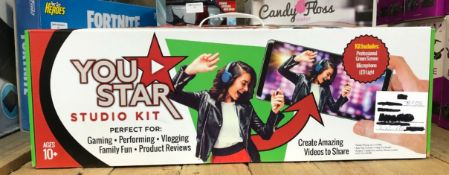 1 X YOU-STAR STUDIO KIT / RRP £40.00 / UNTESTED CUSTOMER RETURN