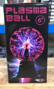 5 X PLASMA BALLS 6 INCH / COMBINED RRP £100.00 / UNTESTED CUSTOMER RETURNS