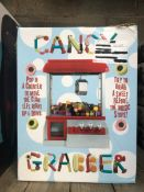 1 X CANDY GRABBER / RRP £29.99 / UNTESTED CUSTOMER RETURN