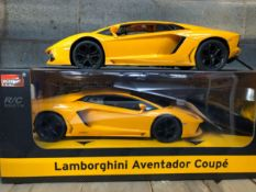 2 X RC LAMBORGHINI AVENTADOR COUPE / COMBINED RRP £60.00 / UNTESTED CUSTOMER RETURN