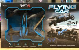 6 X RC FLYING CARS / COMBINED RRP £180.00 / UNTESTED CUSTOMER RETURNS