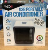 1 X USB PORTABLE AIR CONDITIONER / RRP £20.00 / UNTESTED CUSTOMER RETURN