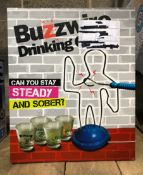 1 X BUZZWIRE DRINKING GAME / RRP £10.00 / UNTESTED CUSTOMER RETURN