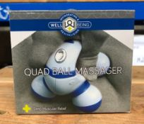 8 X QUAD BALL MASSAGERS / COMBINED RPP £48.00 / UNTESTED CUSTOMER RETURNS