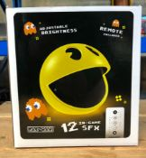3 X PAC-MAN LIGHTS / COMBINED RRP £90.00 / UNTESTED CUSTOMER RETURNS