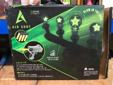3 X AIRSHOT SETS / COMBINED RRP £60.00 / UNTESTED CUSTOMER RETURNS