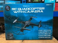 5 X RC QUADCOPTERS WITH CAMERA / COMBINED RRP £100.00 / LIKE NEW