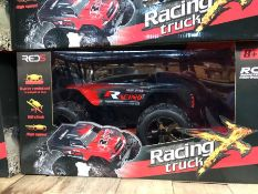 5 X RC RACING TRUCKS / COMBINED RRP £175.00 / UNTESTED CUSTOMER RETURNS