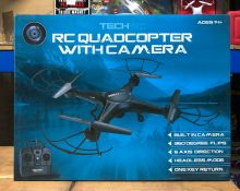 6 X RC QUADCOPTERS WITH CAMERA / COMBINED RRP £120.00 / LIKE NEW