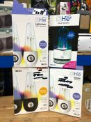 4 X HE SPEAKERS / COMBINED RRP £85.00 / UNTESTED CUSTOMER RETURNS